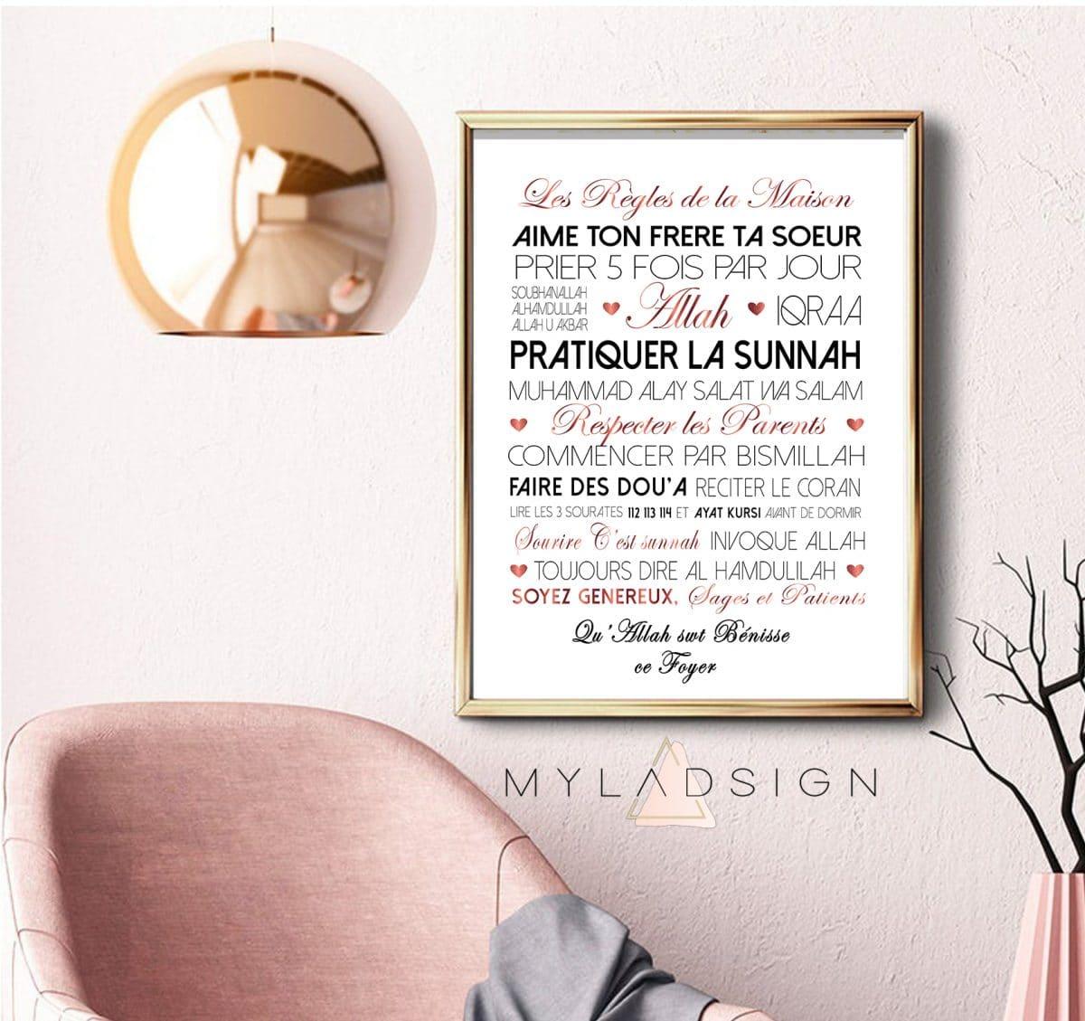 Les Regles De La Maison Myladsign
